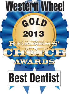 Okotoks Dentist - Western Wheel Award Gold