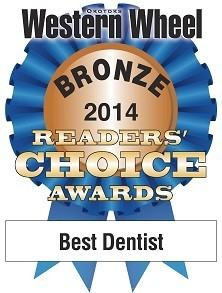 Dentist in Okotoks Alberta - Western Wheel Award