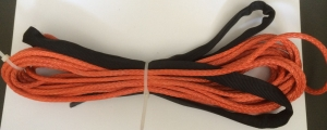 Winch Synthetic Cable – Orange – 40'