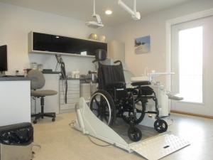 sarnia dental chair for wheelchair patients