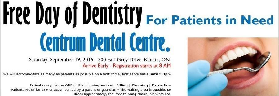 Kanata Dentist - Free Dentistry